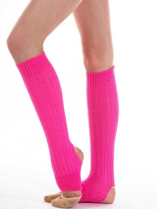 Гетры розовые для художественной гимнастики