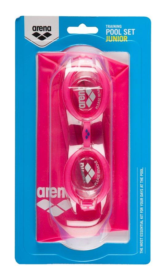 Набор ARENA очки Zoom X-FIT + шапочка Classic Silicone