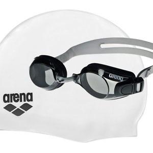 Набор ARENA POOL SET ( очки Bubble 3Jr + шапочка Classic Silicone Jr)