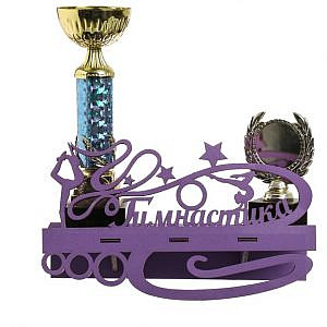 Медальница для гимнастики с фоторамкой