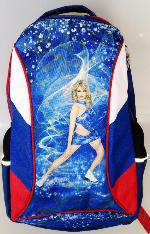 Рюкзак для фигуристов XL - Триколор