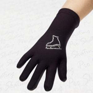 Перчатки со стразами
