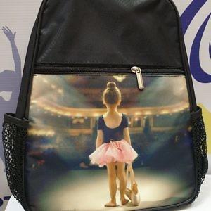 """Рюкзак для балета, танцев, хореографии """"Девочка в театра"""""""