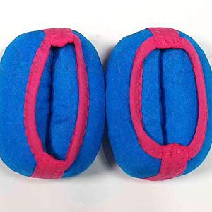 Утяжелители универсальные (БРАСЛЕТЫ) на ноги и руки 100 гр (2 ШТ)