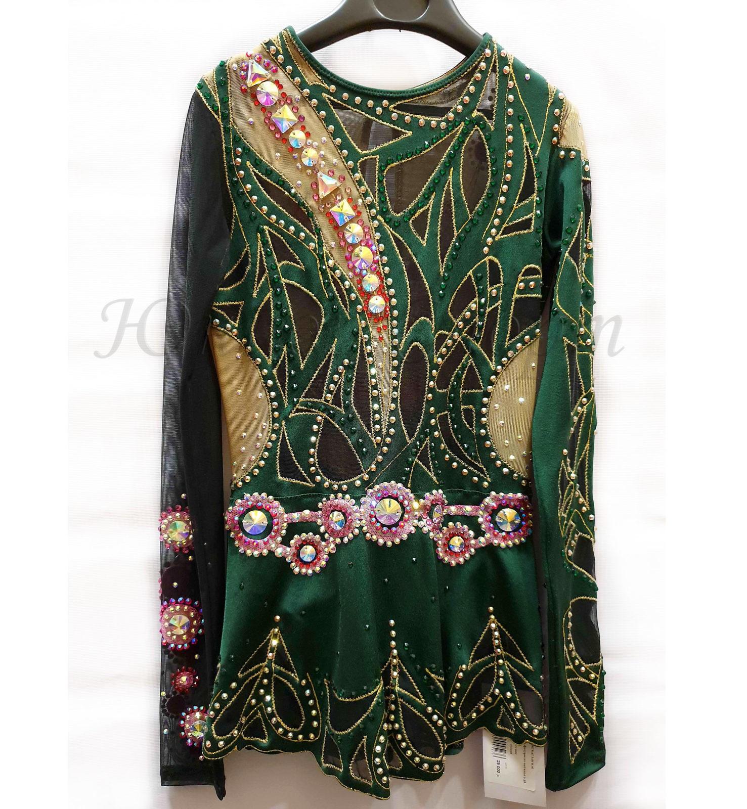 Платье для фигурного катания бу на рост 146-152