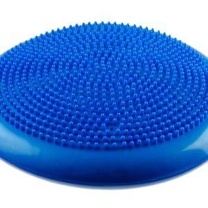 Подушка балансировочная массажная, d=35 см, синяя