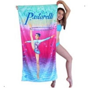 Полотенце с гимнасткой Пасторелли