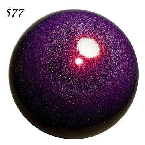 Мяч для гимнастики Chacott Ювелирный с блёстками 18.5 см Новая Маркировка - 501 Перламутр